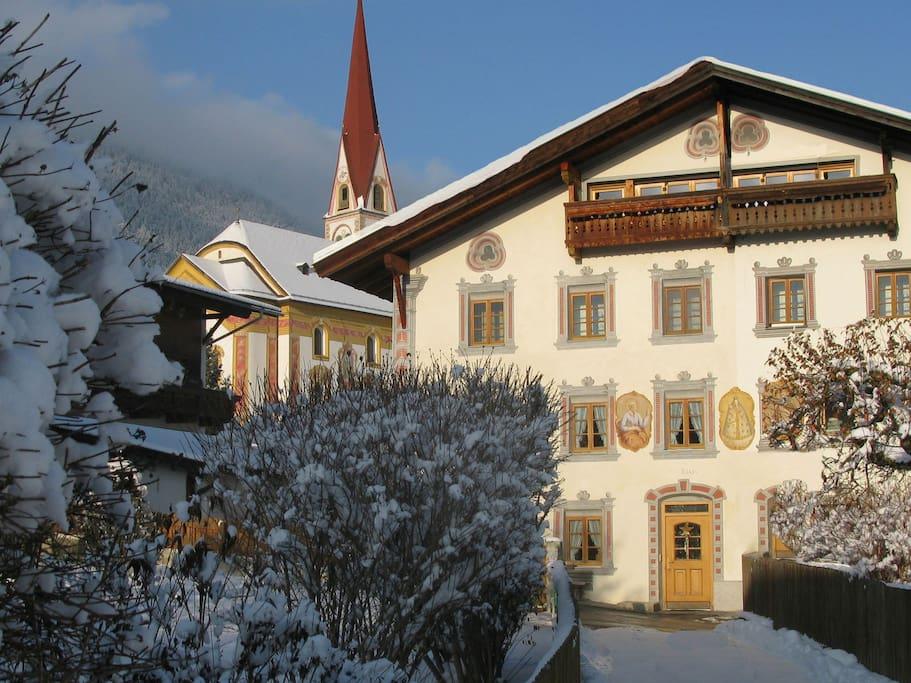 Tiroler Haus aus dem 17. Jahrhundert