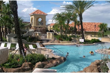 Amazing 4br 3ba Disney Resort Vacation Townhome - Davenport