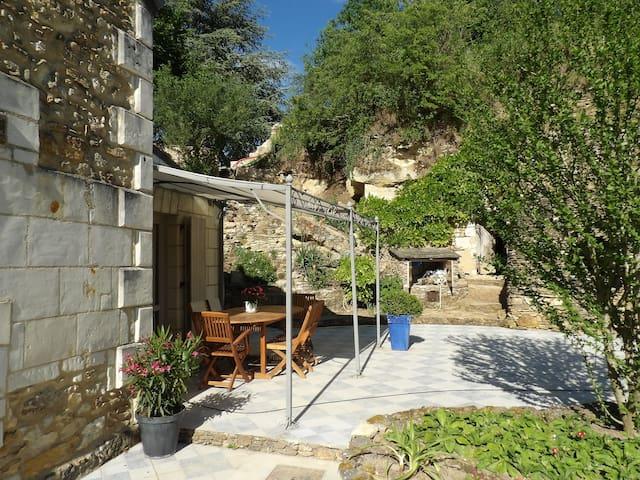 Gîte cottage Saumur Val de Loire 4 à 6 pers