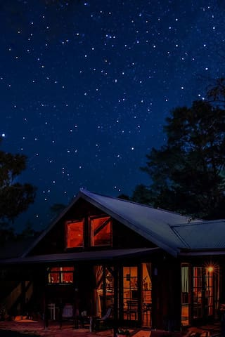 Night sky- Browns Cottage