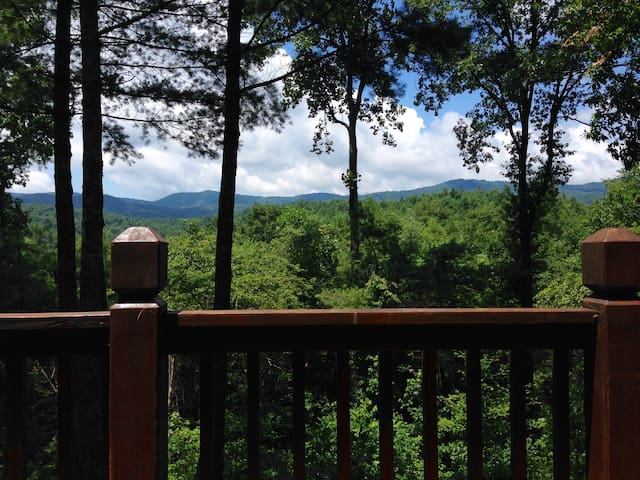 Private, serene cabin in the forest - Ellijay - Srub