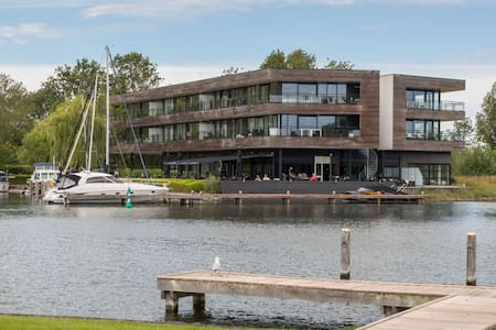 Holiday apartment in a prime location on the Veerse lake!