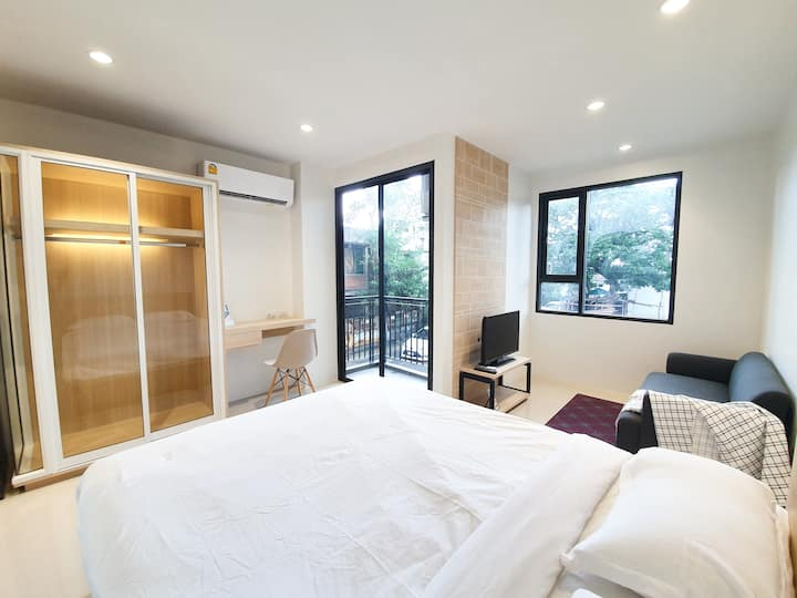 BRIGHT WAY Studio-Ratchada Train Market-NEAR MRT