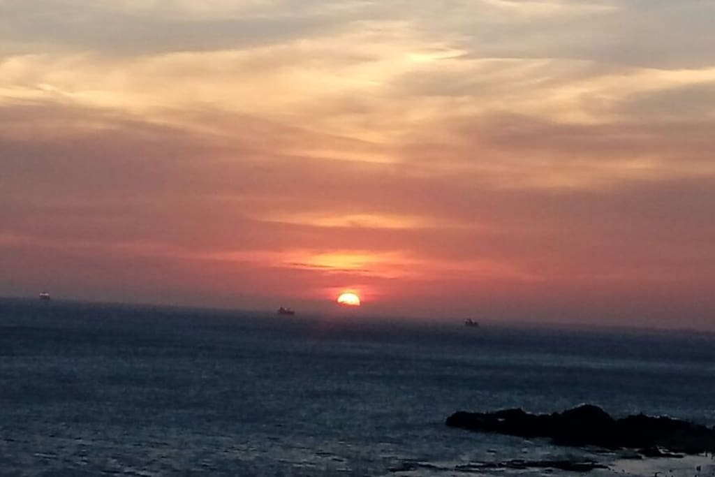 Pôr do Sol na Barra