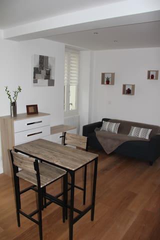 Studio refait à neuf / Beautiful bright studio - Évian-les-Bains - Apartamento