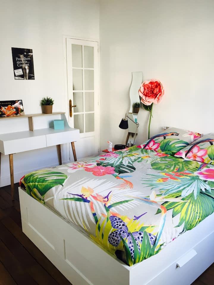 Appartement parisien en plein coeur