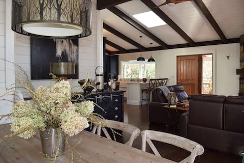 Luxury, Modern Lakefront Mountain Home