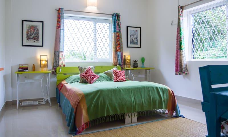 The Assagao House, Goa - Private 1 BHK Green Villa