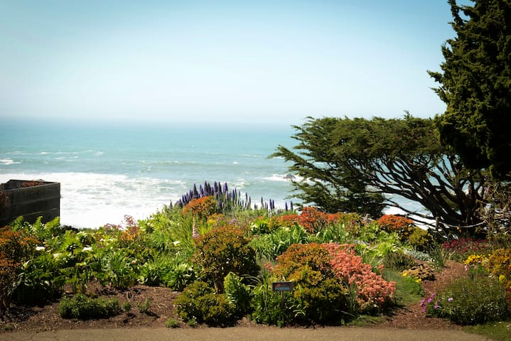 Stylish Wrights Beach Cottage – Amazing Views!! - Bodega Bay - Huis