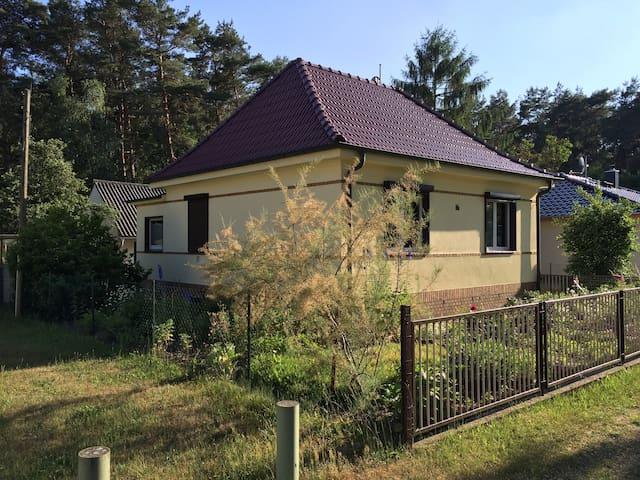 Haus am Wald - Ruhe und Entspannung in der Natur - Schorfheide - Casa