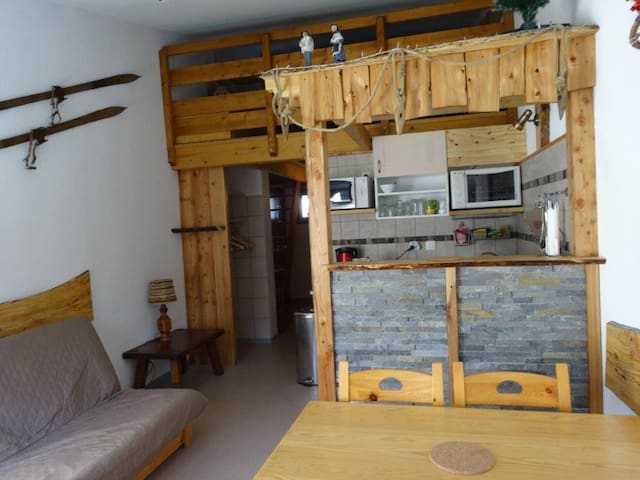 appartement duplex 4-6 personnes - Les Orres - Apartment