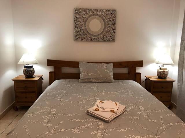 Villa Hibiscus, chambre 1 (sur 4 au total)