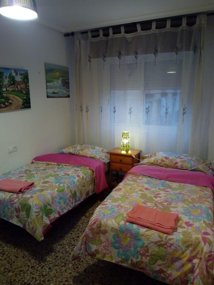 Comfortable habitación