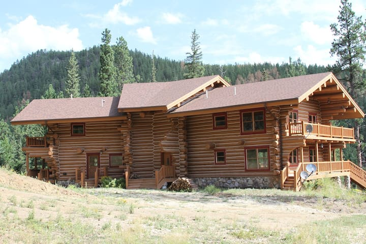 Centrally Located Log Home