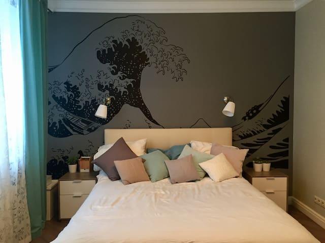 Милая комната в современном стиле