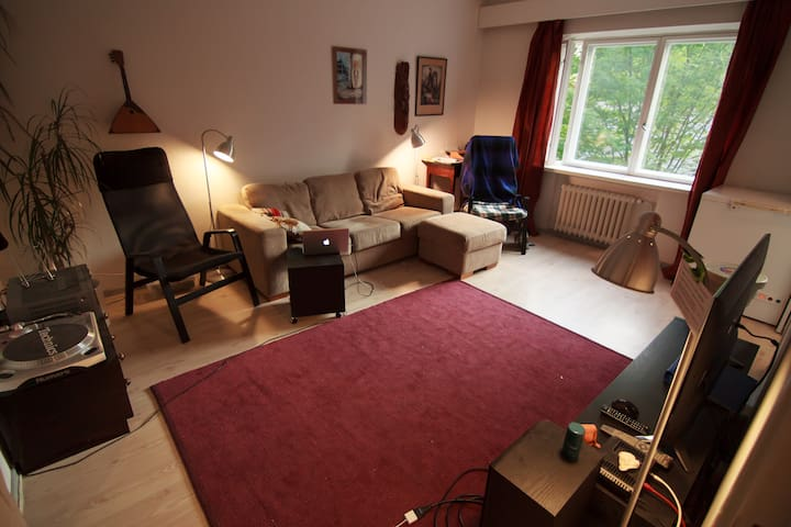 Peaceful 2-room apartment in beautiful Käpylä - Helsinki - Wohnung