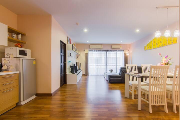 กาญจน์กนก 3 (เจ็ดยอดกรีนเนอรี่ฮิลล์) - Chiang Mai - Apartament