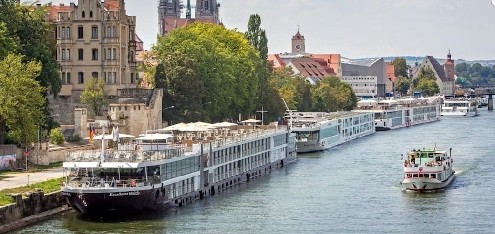 COSY FLAT*~5 Mins See Donau &~3 mins*Continental