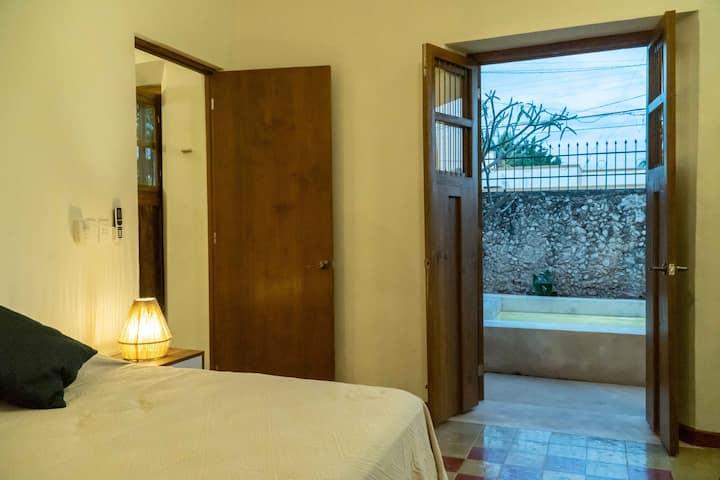 Casa Chukum Piscina y terrazas al estilo Yucatán