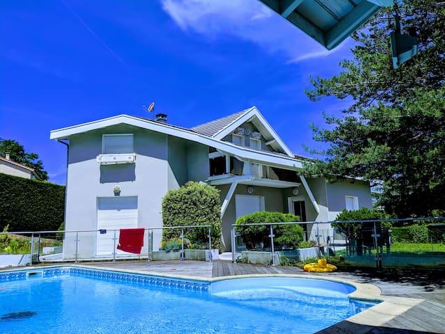 Villa design entre Saint-Etienne et Lyon