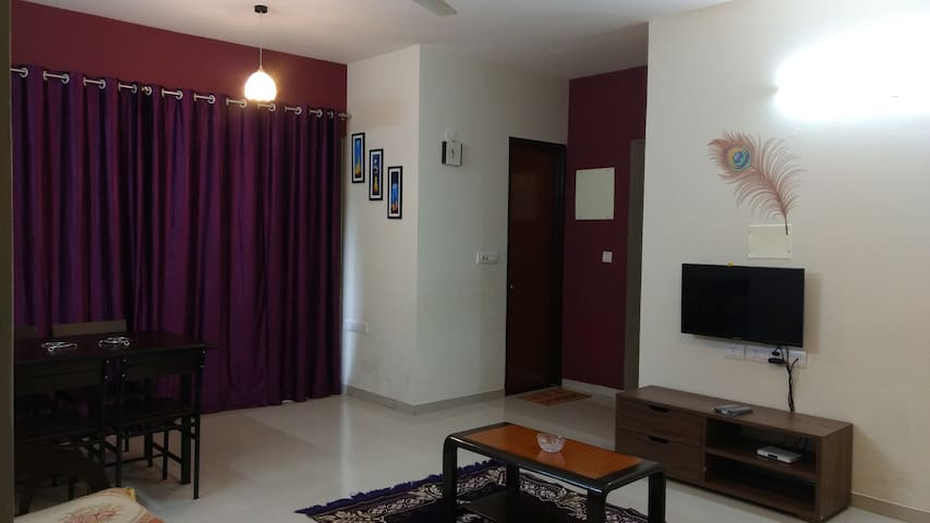 Lavasa City - 1BHK Service Apartment - Lavasa - Apartment