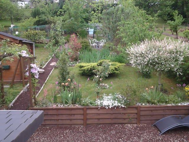 chambre+ petit salon  + terrasse avec jardin - Brive-la-Gaillarde - Rumah