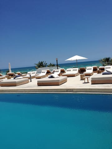 Balcony View, 24H Gym, Roof top Pool,Spa,Free Wifi - Miami Beach - Apartment