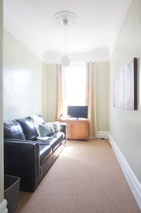 Lounge room or extra sofa bed with TV