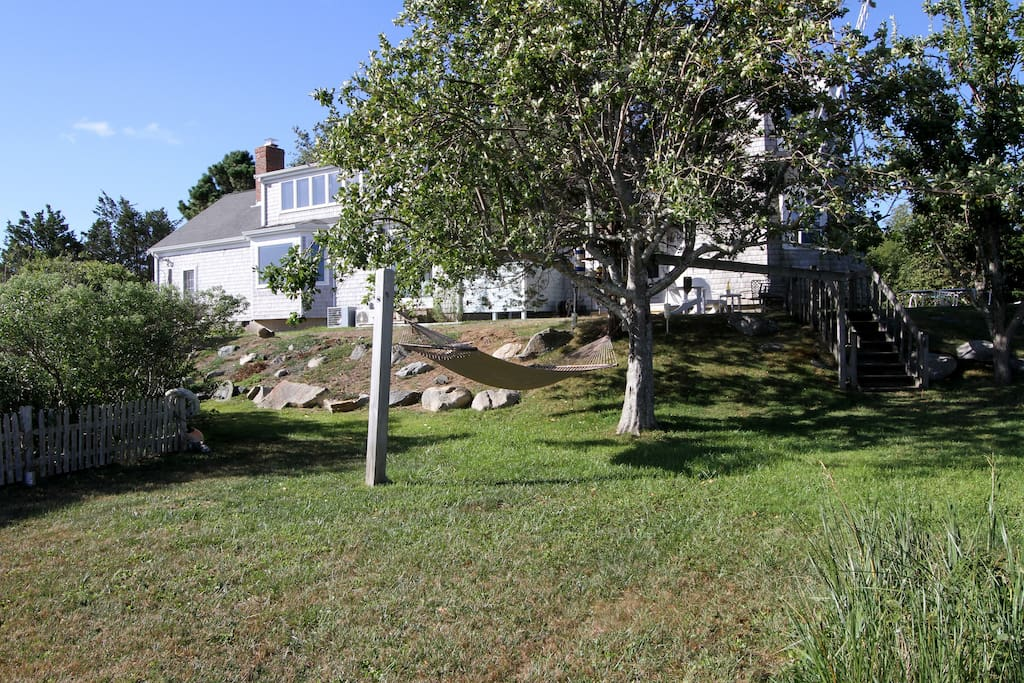 Truly beautiful property surrounds this unique Cape Cod rental.
