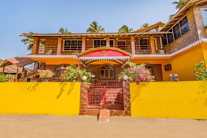Homely 2 BHK, 140 m from Anjuna Beach/73606
