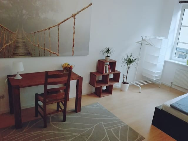 Clean and Spacey Room in perfect central Location - München - Flat