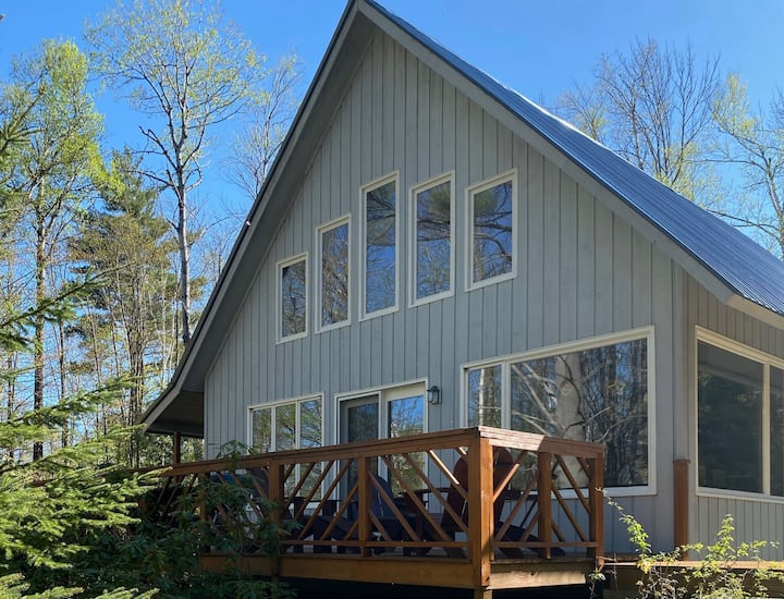 ADK Chalet- Hiking, Gore, Secluded, Fall Foliage