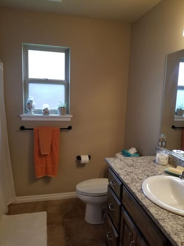 Private or shared (depending of another guest in other bedroom) bathroom right beside the bedroom