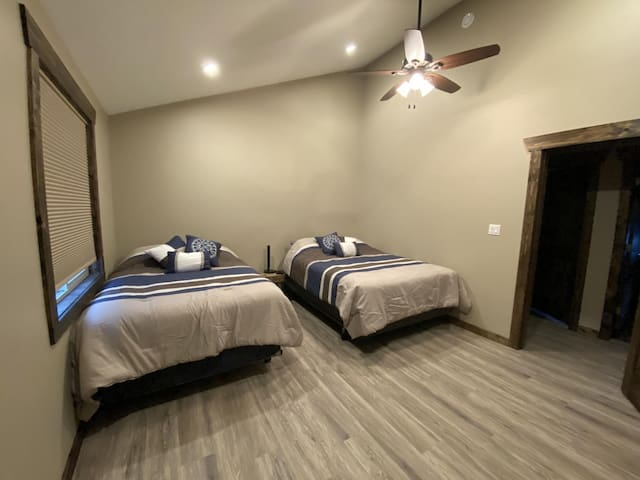 All bedrooms are fully equipped with sheets, blankets, and pillows