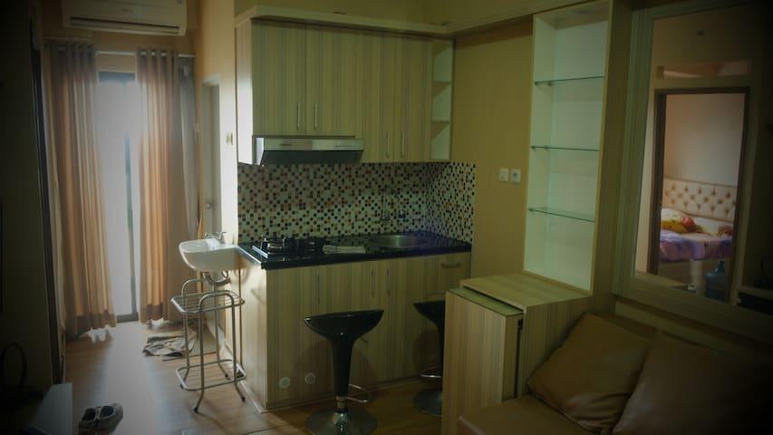 Apartemen harian/bulanan/tahunan di pusat bekasi
