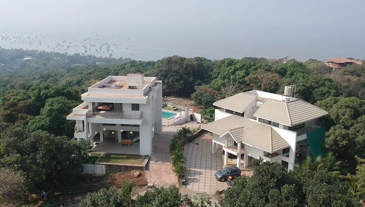 Ocean Vista Villas, Indoor Swimming Pool & Garden!