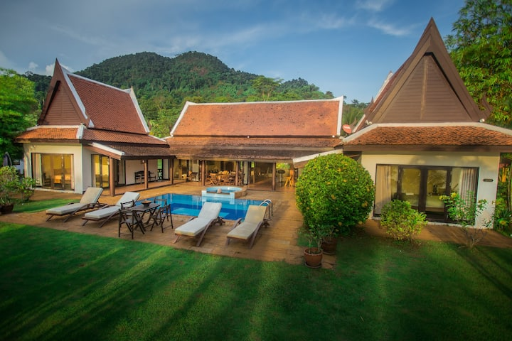 Issara Villa Krabi - Private pool - Seaview