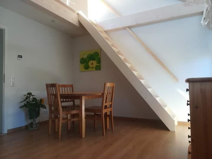 Maisonette Wohnung mit Möhrenblick