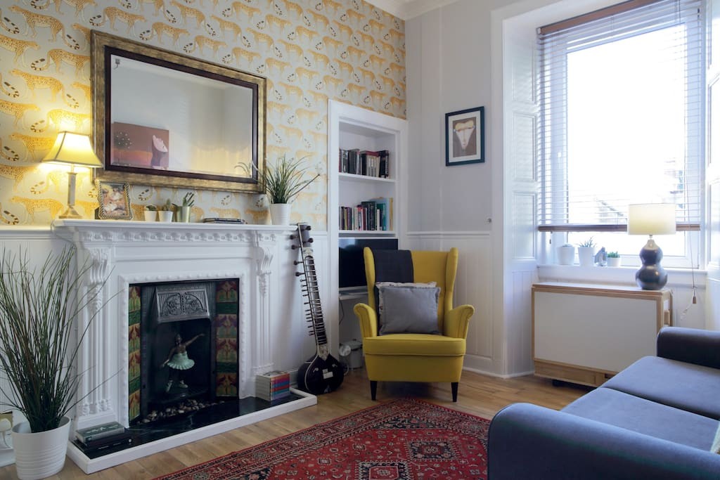 Bright and homely living room