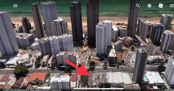 Próximo ao Mar D Recife