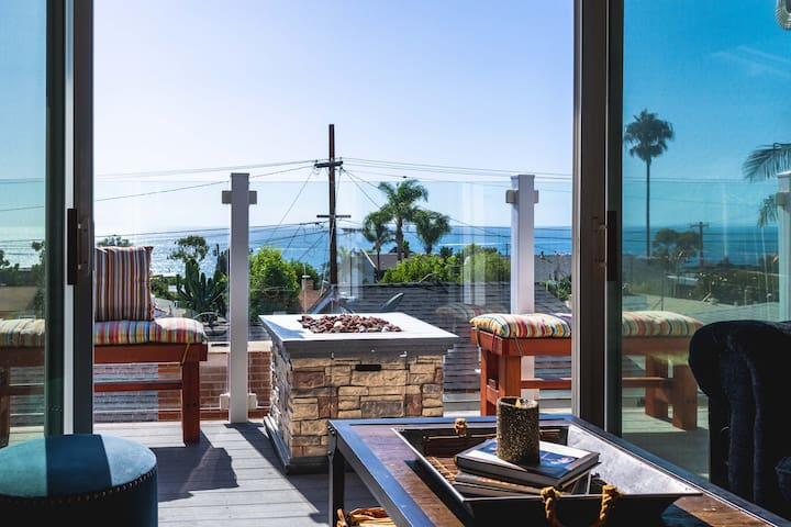 Ocean View and steps away from the ocean!