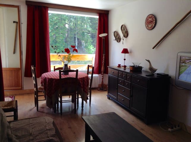 Charmant T3 45m2 Pra Loup 1600 - Uvernet-Fours - Lägenhet
