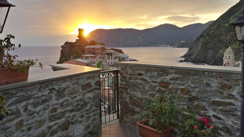 Seaview apartament in Vernazza - Vernazza - Pis