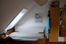 Ruhiges Zimmer im Grünen, stadtnah