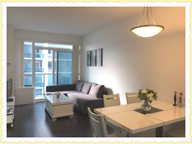 Cozy Condo at Steeles and Yonge with Free Parking - York Regional Municipality - Apartamento