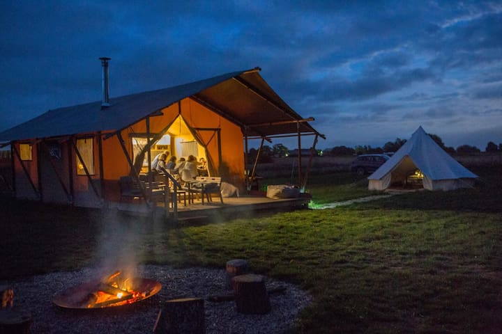 Wheatfields Luxury Glamping Nr Rye & Camber Sands