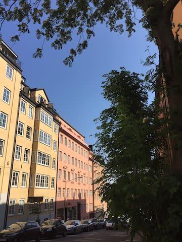 Attractive location at Södermalm