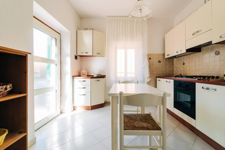 Casa con vista a Tirli (Castiglione della Pescaia)