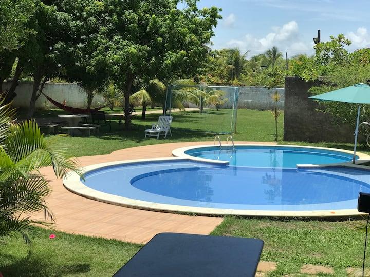 Casa de praia perfeita para sua família em Alagoas
