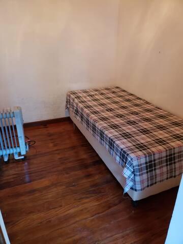 Suíte externa cama de casal com aquecedor